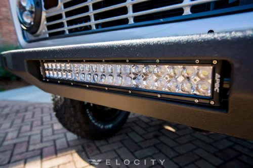 1967 Early Ford Bronco Half Cab modern LED lighting