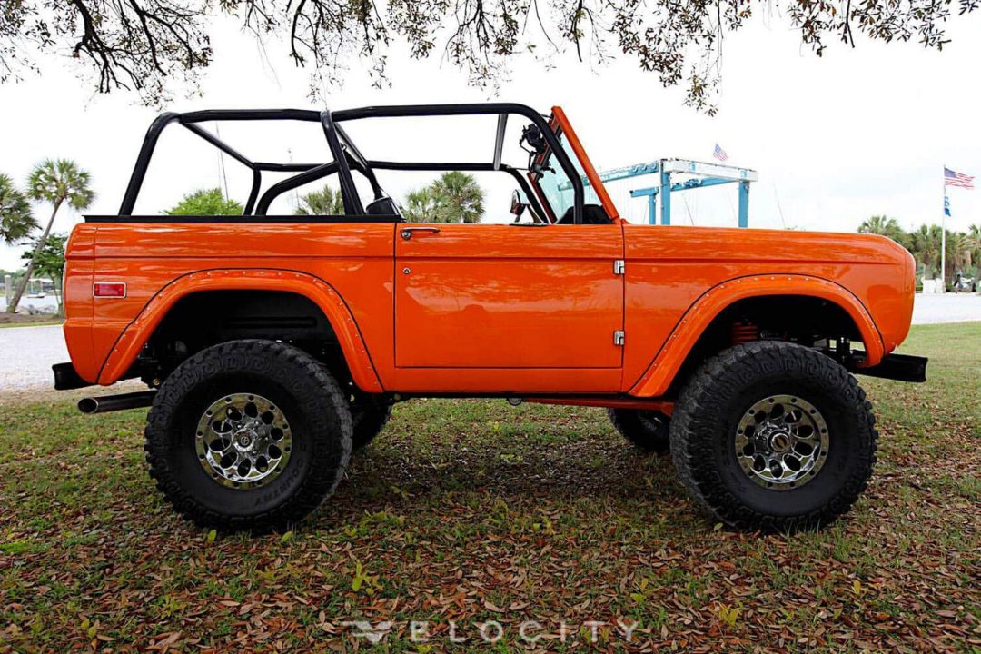 1972 Classic Ford Bronco restored by Velocity Restorations