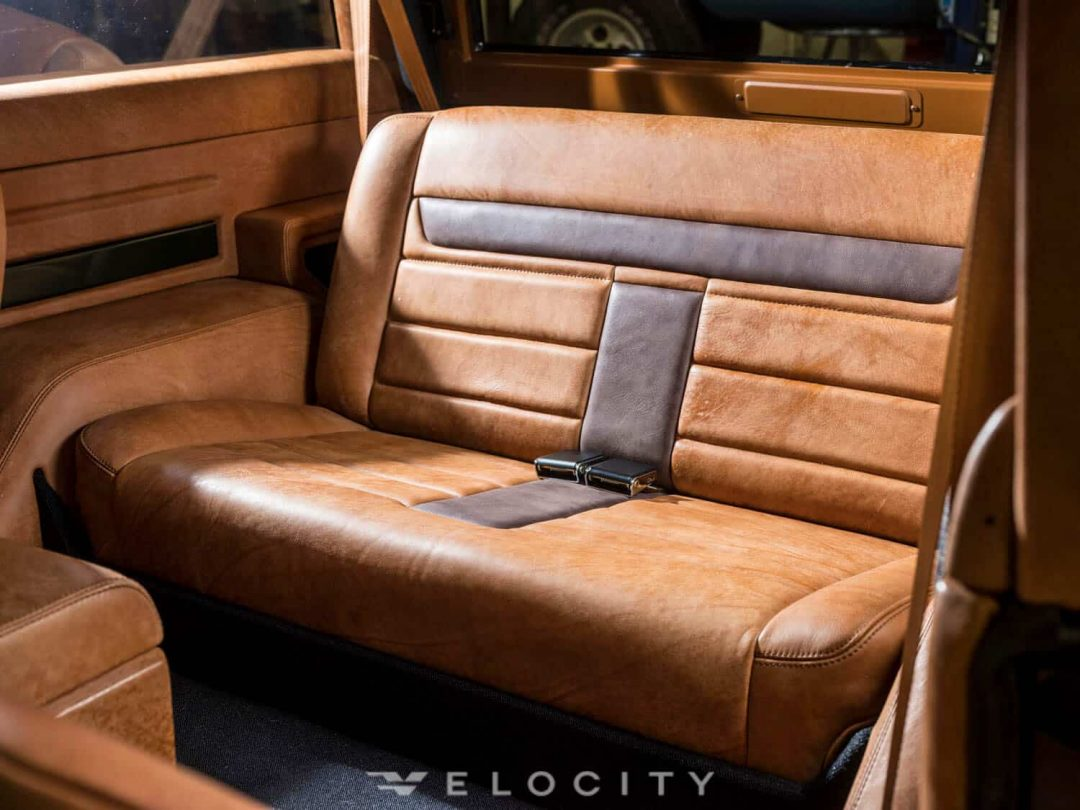 1976 Classic Ford Bronco rear seat