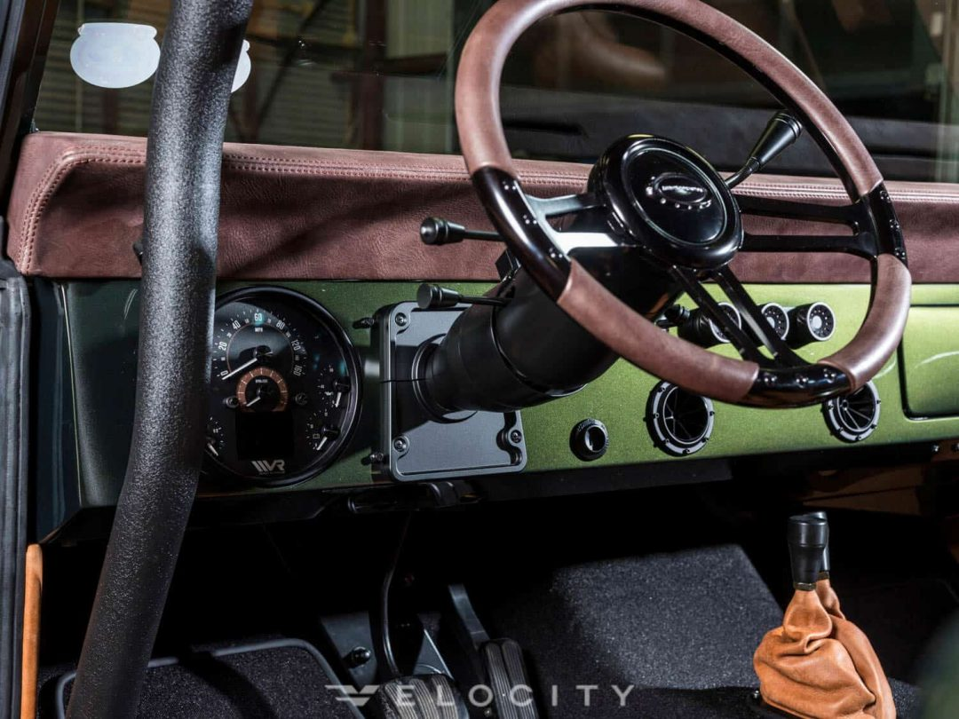 1976 Classic Ford Bronco steering wheel 2
