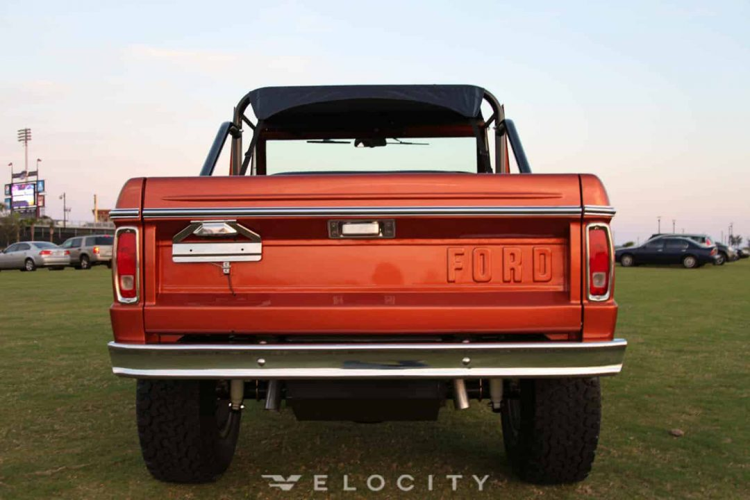 1976 Classic Ford Bronco Sport rear view