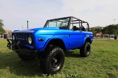 1976 Custom Ford Bronco driver front view