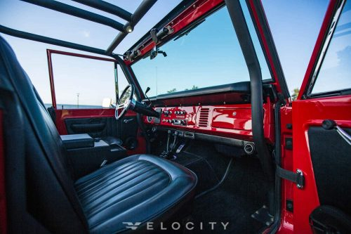 Early Ford Bronco passenger front seat