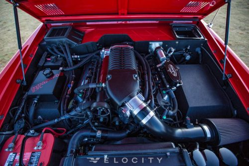 Early Ford Bronco Whipple 2.9L Supercharger front view