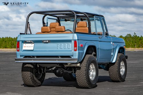 Classic Bronco rear quarter and tailgate
