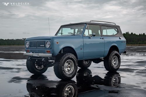 1973 International Scout II Front drivers side 3/4