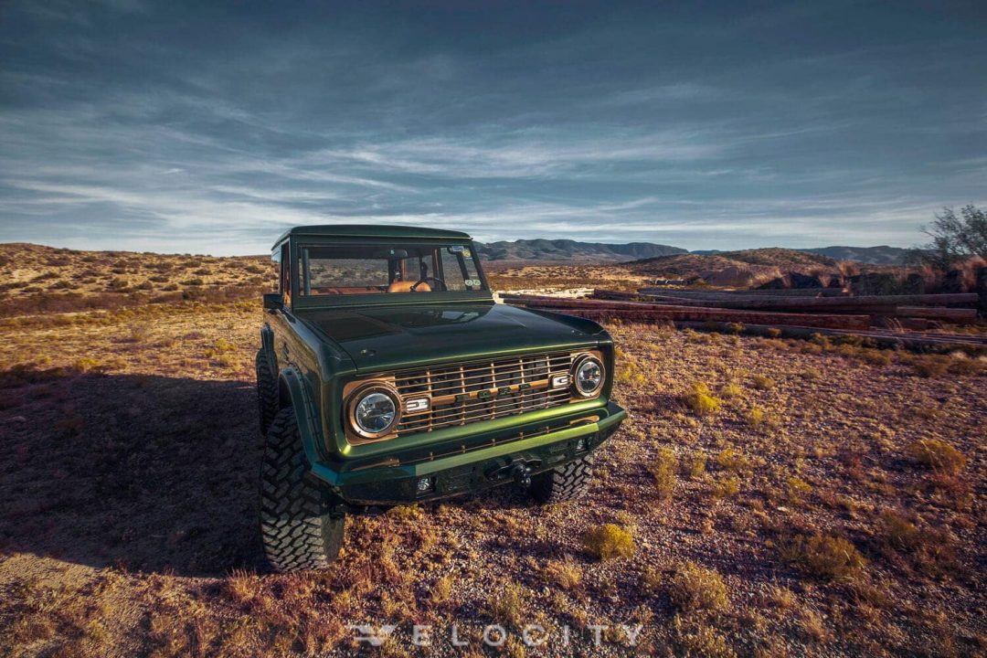 1976 Classic Ford Bronco front environmental