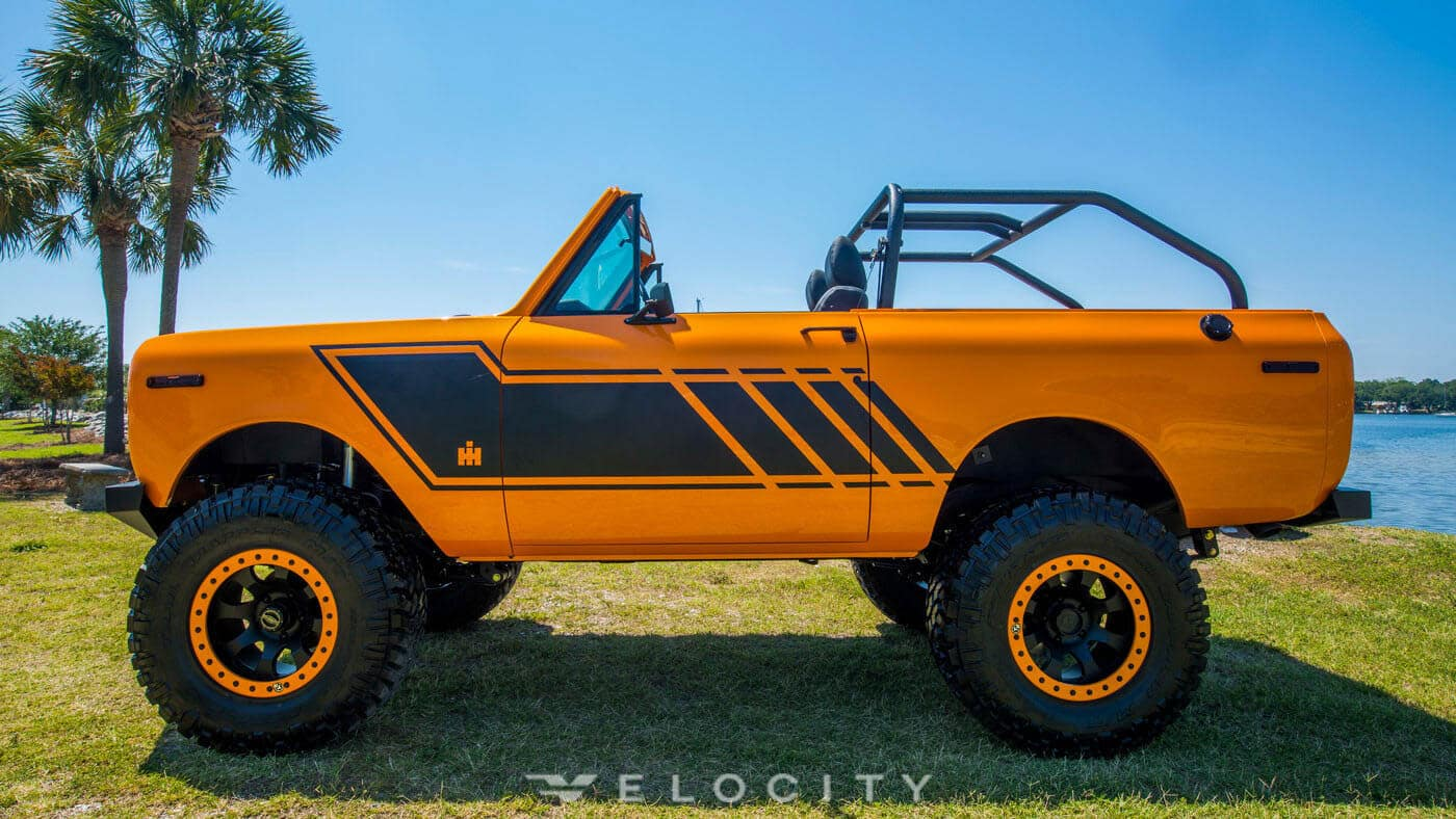 This $229,000 Scout was Found in an Oil Field and Resurrected