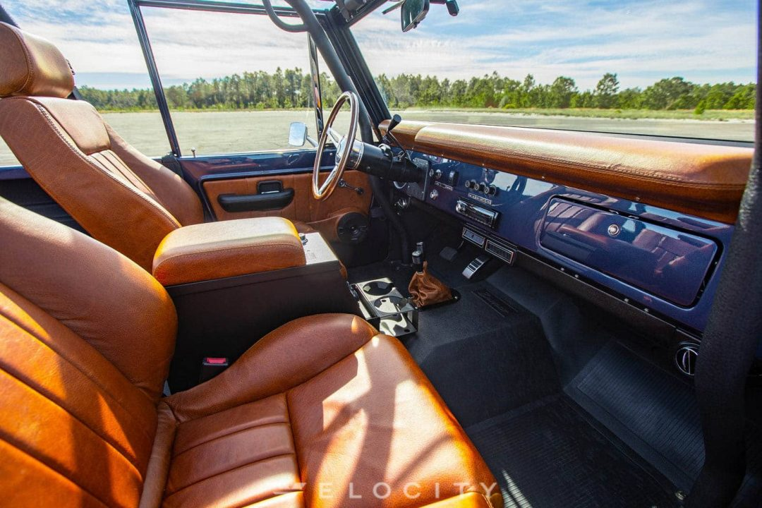 77 Early ford bronco passenger seat