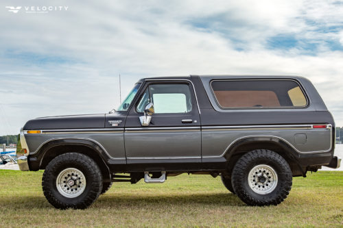 1979 Classic Ford Bronco Drivers side profile