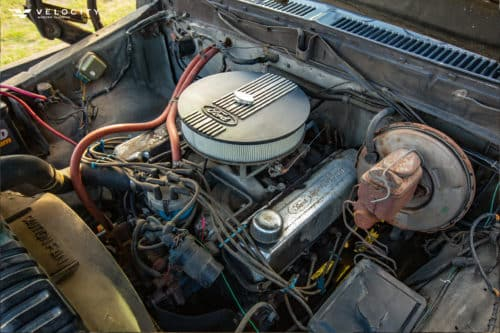 1979 Classic Ford Bronco engine