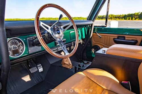 74 ford bronco drivers steering wheel