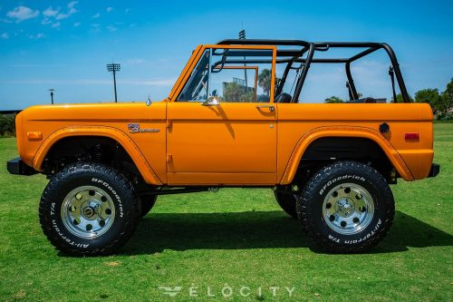 74 Ford Bronco drivers side