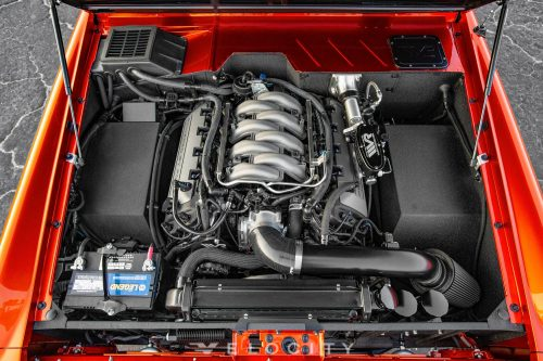 1975 Ford Bronco Coyote engine