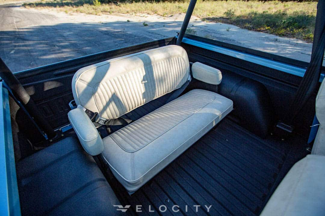 68 Ford Bronco rear bench seat