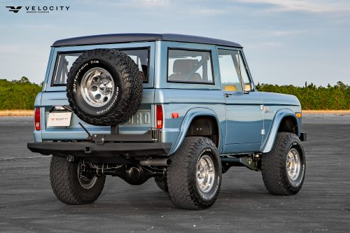 Classic Broncos Rear side photo with pacer wheels