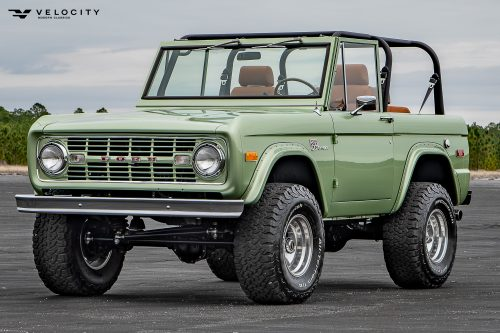Classic Ford Bronco Drivers side View