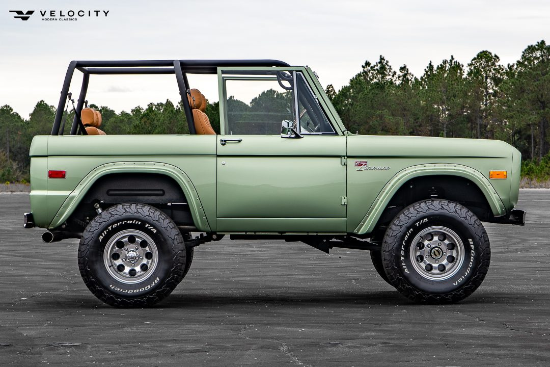 Classic Ford Bronco Passenger side Profile View