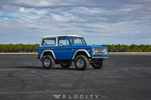 77 ford bronco passenger side front angle