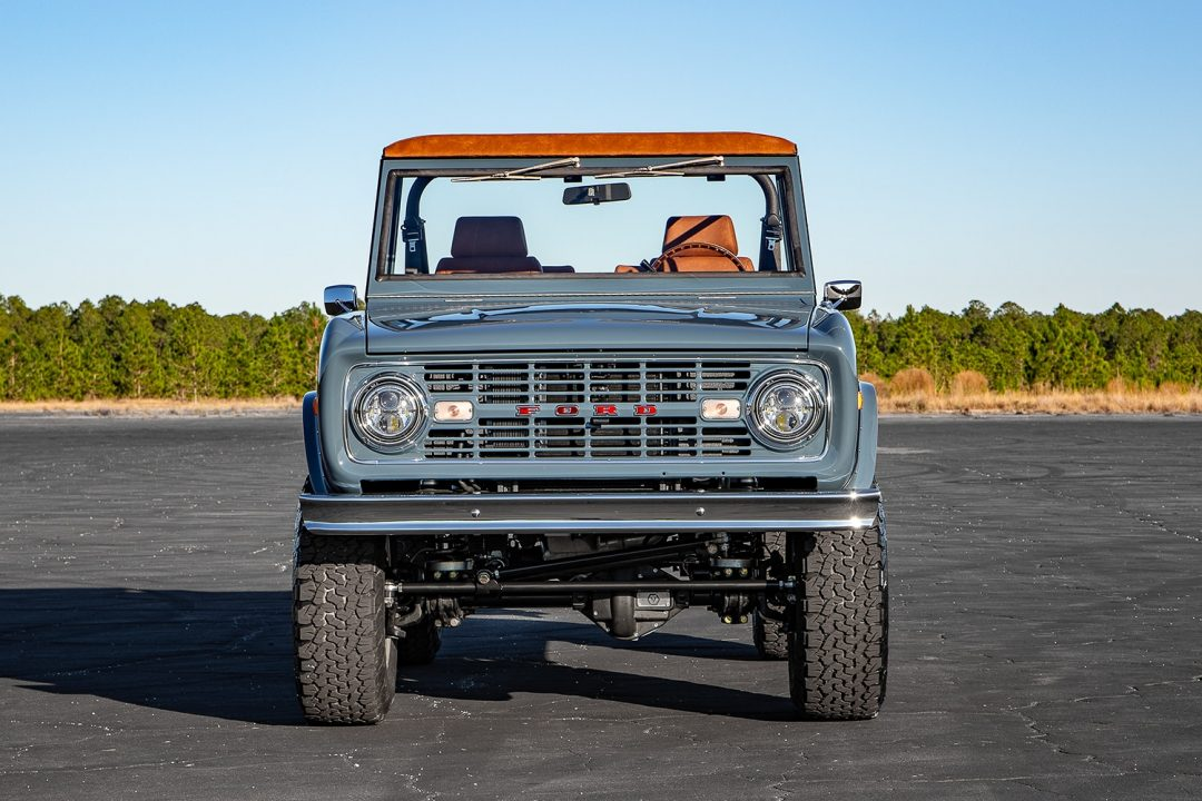 1966 Early Ford Bronco headlights