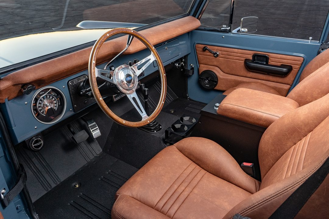 1966 Early Ford Bronco drivers seat