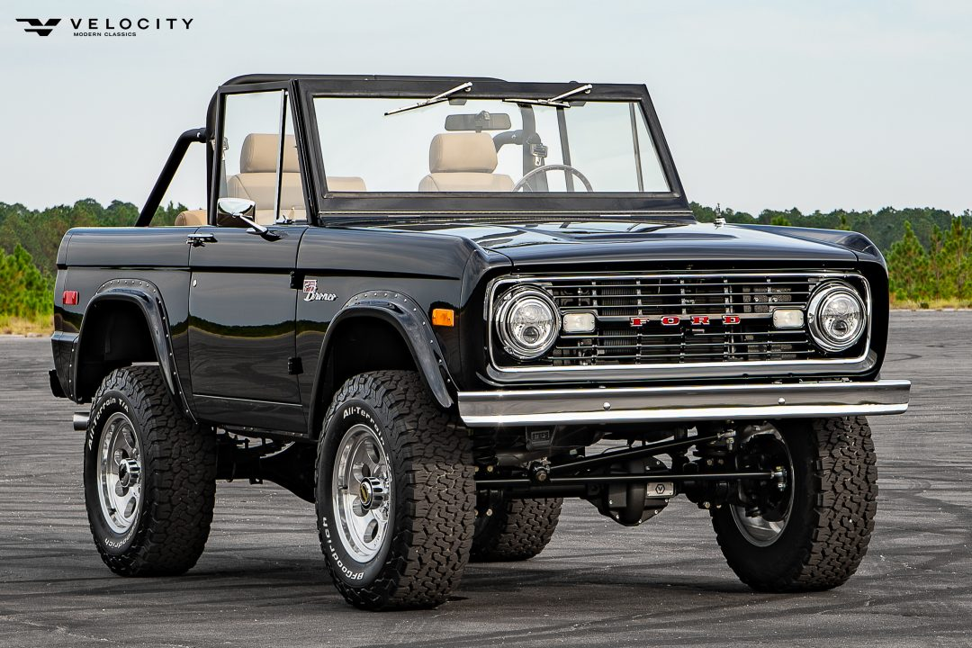 Classic Ford Bronco Passenger side front