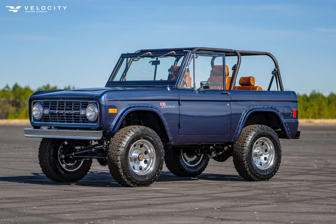 1977 Classic Bronco Drivers side front 3/4
