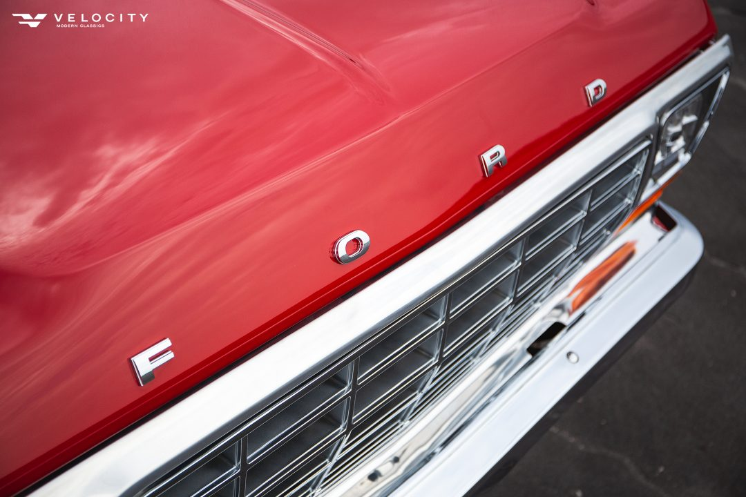 Classic Ford Bronco front end