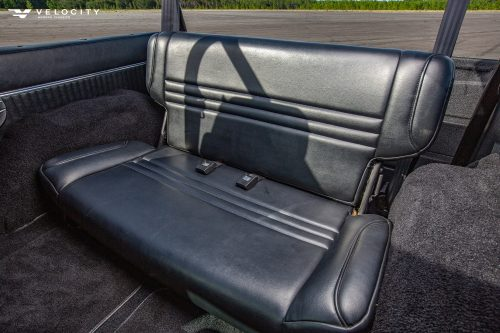 Classic Ford rear seat