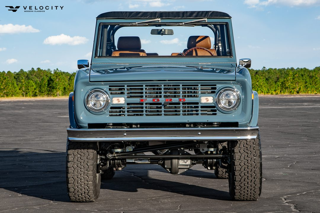 Classic Ford Bronco Front Grill