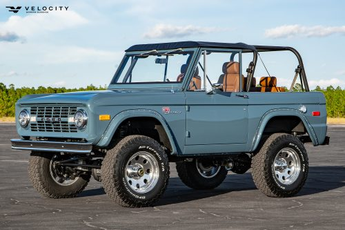 Classic Ford Bronco Front drivers side 3/4