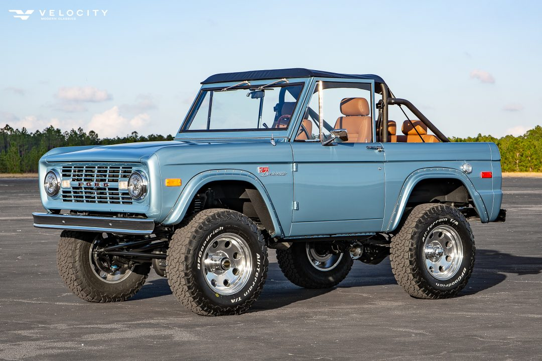 Classic Bronco driver front 3/4 view
