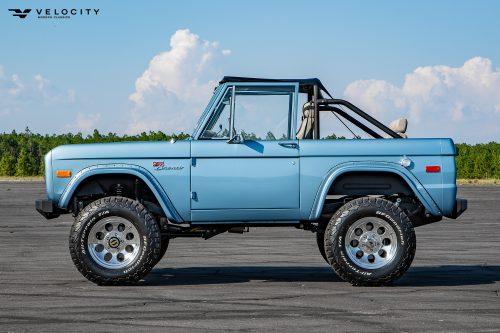 Classic Bronco Driver side profile