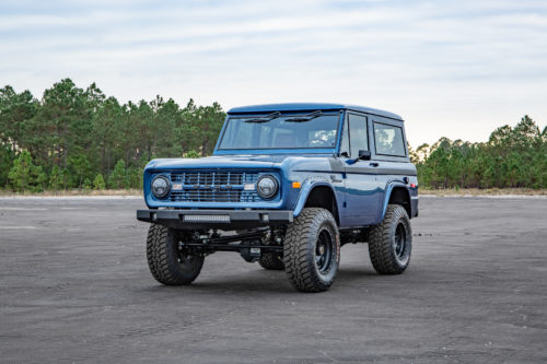 Classic Ford Bronco Front View
