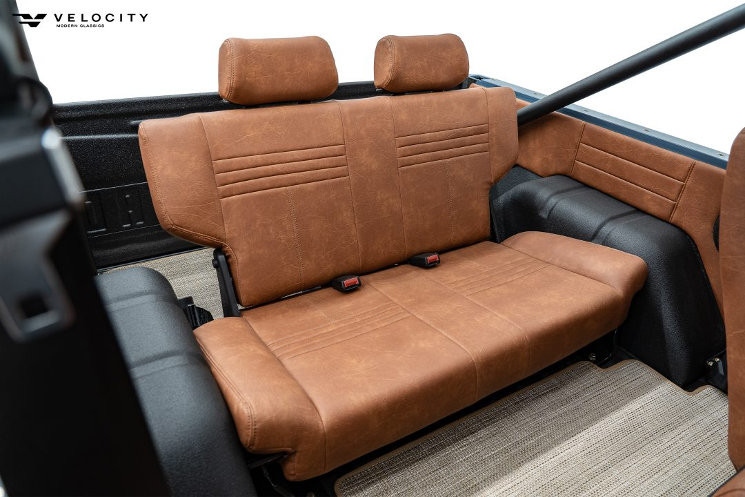 Classic Ford Bronco Rear Seats