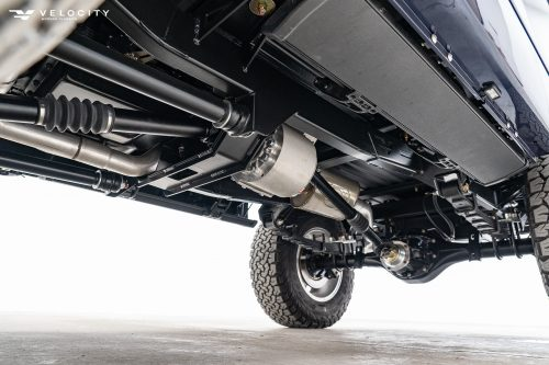 Classic Ford Bronco undercarriage