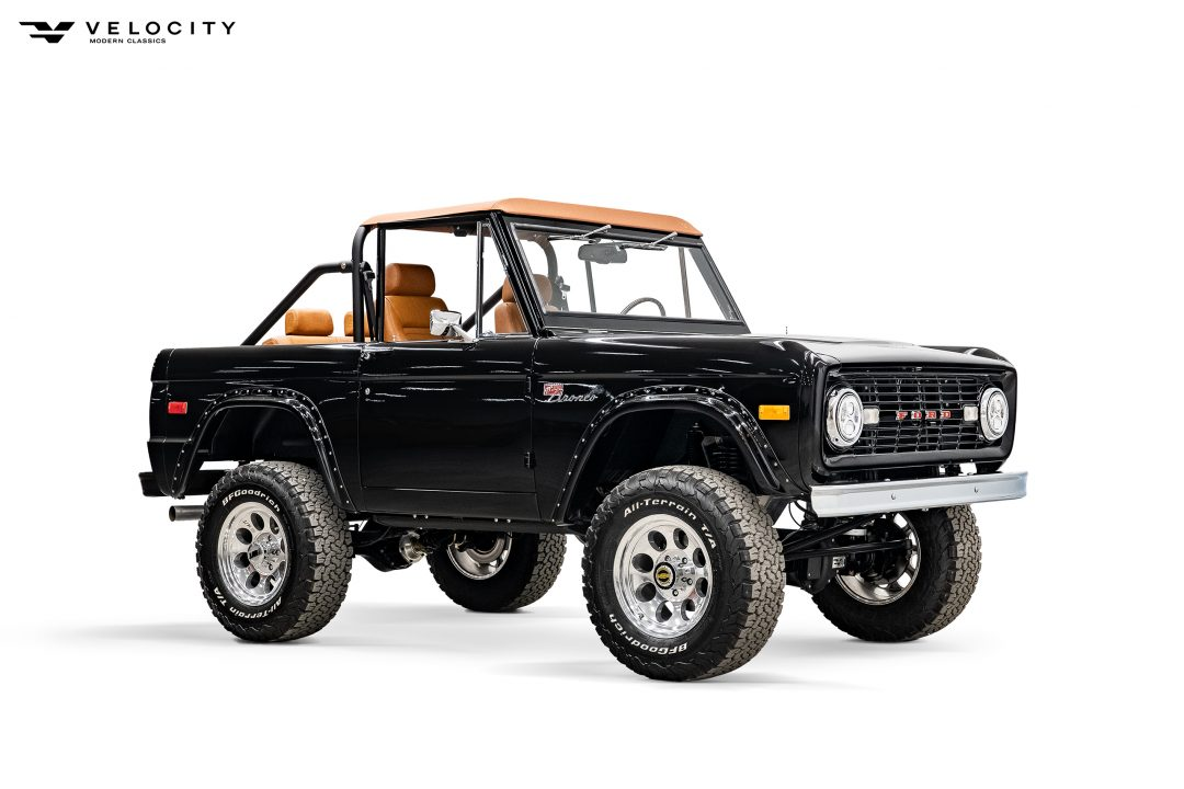 1969 Vintage Ford Bronco passenger front view