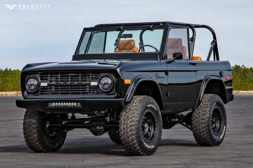Vintage Bronco front side view